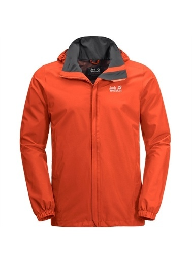 Jack Wolfskin Stormy Point M Outdoor Erkek Ceket Bordo